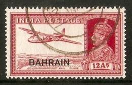 BAHRAIN 1940 12a SG 31 FINE USED Cat £55 - Bahrein (...-1965)