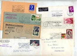 Lot 7 Lettre Flamme à Voir - Marcophilie (Lettres)