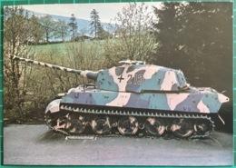 PzKpfw VI Tiger II 'KingTiger' With KwK L/71 88mm Gun In Henschel Turret ~ Tank ~ Belgium 1975 - Equipment