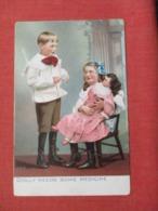 Tuck Series Little Men & Women--Dolly Needs Some Medicine   Ref 3670 - Children