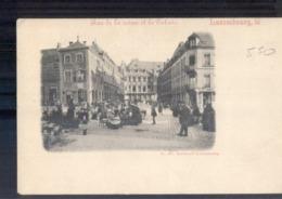 Luxembourg Luxemburg - Rue De La Reine Et Le Palais  - 1900 - Cartoline