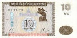 Armenia 10 Dram 1993  Pick 33 UNC - Armenië