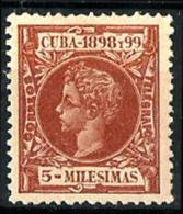 Cuba Española Nº 158 En Nuevo - Kuba (1874-1898)
