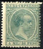 Cuba Española Nº 144 En Nuevo - Cuba (1874-1898)