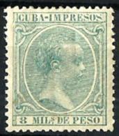 Cuba Española Nº 145 En Nuevo - Kuba (1874-1898)