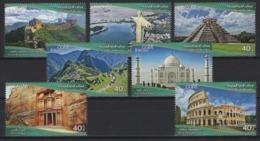 Jordan (2019) - Set -  /  UNESCO World Heritage - Taj Mahal - Machu Pichu - China Wall - Brazil - Coliseo - Roma - Archaeology