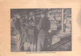 WWII WW2 Flugblatt Tract Leaflet Листовка German Propaganda Against USSR  CODE 833 (FREE STANDARD SHIPPING WORLDWIDE) - 1939-45