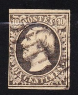 STAMPS-LUXEMBOURG-1852-USED-SEE-SCAN - 1852 William III