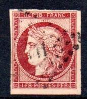 YT N° 6A - Cote: 3000,00 € - Lire Descriptif - 1849-1850 Ceres