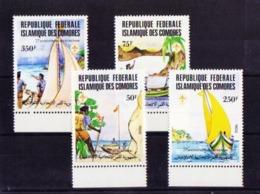 Comores 362/5 Nuevo - Komoren (1975-...)