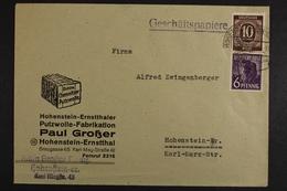 Hohenstein-Ernstthaler Putzwolle Fabrikation - Ohne Zuordnung