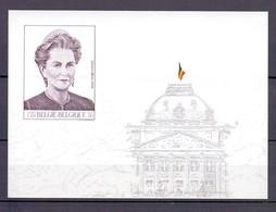BLOK 84 KONINGIN PAOLA ONGETAND POSTFRIS** 2000 - Belgium