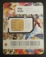 Qatar Vodafone Card With SIM - Qatar