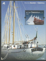 """Portugal  2012 Silhouette Of The """"Creoula"""", Dinghies  Mi Bloc 337, MNH(**) - Neufs"""