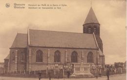 Westouter, Standbeeld Der Gesneuvelden En Kerk (pk61747) - Heuvelland