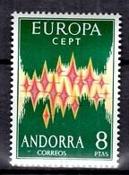 Andorre Espagnol Europa 1972 Neuf ** MNH. TB. A Saisir! - Spanisch Andorra