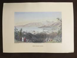 Engraving Reprint, For W.H. Bartlett, Beirut And Mount Lebanon, Liban Libano - Prints & Engravings