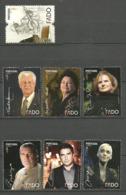 Portugal  2012 Fado Interpreters (II).  Mi 3779-3785, MNH(**) - Neufs