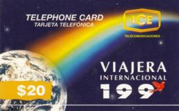 COSTA  RICA-  Mundo Y Arcoiris, ICE Prepaid Card $2CO0, 10/96, Used - Costa Rica