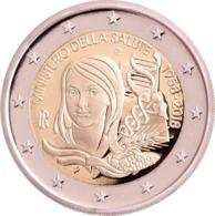 """ITALIA  2€ 2.018  2018  BIMETALICA """"MINISTERIO DE SALUD""""  SC/UNC T-DL-12.295 - Italie"""