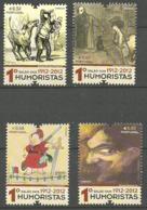 "Portugal  2012 100th Anniversary Of The Art Exhibition ""1. Salon Of Humorists "", Lisbon: Cartoons  Mi 3786-3789, MNH(**) - Neufs"