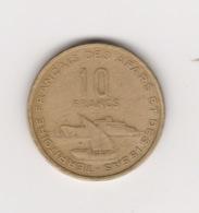 10 FRANCS TERRITOIRE DES AFARS ET ISSAS 1969 - Dschibuti
