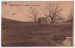 CPA 83 BARGEMON Berger Et Sn Troupeau De Mouton à La Chapelle Favas - Bargemon