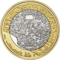 "FINLANDIA  5€ 2.018  2018  BIMETALICA ""Paisajes Naturales-PORVOO""  SC/UNC T-DL-12.296 - Finlandía"