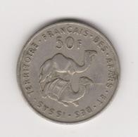 50 FRANCS TERRITOIRE DES AFARS ET ISSAS 1975 - Gibuti