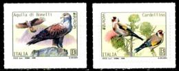 ITALIA / ITALY 2019** - Europa 2019 - Uccelli / Birds - 2 Val. MNH Autoadesivi Come Da Foto. - 2019