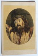 Photolithographie Christ Dit De Charles Quint Photographe Gustave Simonau Et William Toovey Rue De La Pompe Bruxelles - Foto