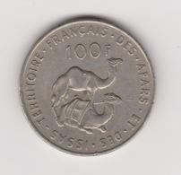 100 FRANCS TERRITOIRE DES AFARS ET ISSAS 1975 - Dschibuti