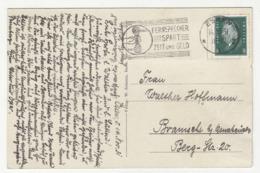 Fernsprecher Spart Zeit Und Geld - Slogan Postmark On Postcard Essen Posted 1931 B191020 - Deutschland