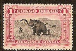 Belgisch Congo Belge 1921 OCBn° 91 *** MNH Cote 3,75 € Surcharge - 1894-1923 Mols: Neufs