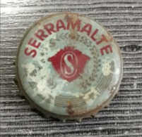 Brazil Bottle Caps Beer, Chapa De Botella De Ceveza - SERRAMALTE ( Red ) - Capsules