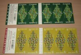 Setje Kerstboekjes Van 2018- Carnets De Noël Des Années Passées - Christmas- Weinachten-Navidad   België / Belgique - Booklets 1953-....
