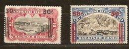 Belgisch Congo Belge 1921 OCBn° 89-90 (*) MLH Cote 3,35 € Surcharge - 1894-1923 Mols: Nuevos