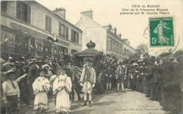 RAMBOUILLET - Fête Du Muguet, Char De La Princesse Mousse Présenté Par M. Charles Piffard. - Rambouillet