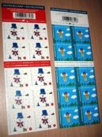 Setje Kerstboekjes 123 &124** - Carnets De Noël Des Années Passées - Christmas- Weinachten- België/Belgique Na 2011 - Booklets 1953-....