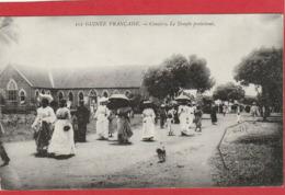 CPA: Guinée Française - Conakry - Le Temple Protestant - Guinée Française