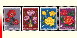 Luxembourg 0506/9** - Floralies -MNH- - Luxembourg