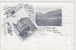 Gruss Aus Glurns - Gasthof Krone - Oesterr.Frankatur - 1904           (A-116-190114) - Italia