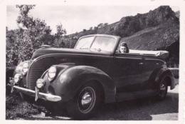 PETITE-PHOTO-ORIGINALE -VOITURE ANCIENNE 1950-60- DIM 9X6 CM - Coches