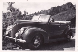PETITE-PHOTO-ORIGINALE -VOITURE ANCIENNE 1950-60- DIM 9X6 CM - Automobili