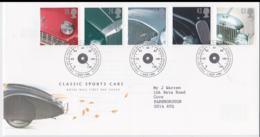 Great Britain FDC 1996 Classic Sport Cars (NB**LAR5-68) - Cars