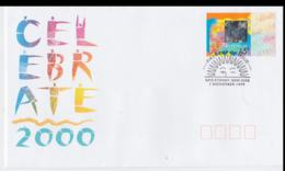 Australia FDC 2000 Celebrations Holographic Stamps Millenium 1999/2000 (NB**LAR5-68) - New Year