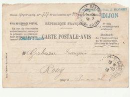 Bureau De Recrutement De Chalon Sur Saône Le Commandant Période Instruction 17 Jrs Section D'infirmiers Militaires 1912 - Casernes