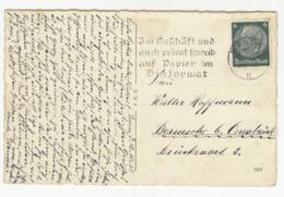 Schreib Auf Papier Im Dinformat - Slogan Postmark On Postcard Essen Ruttenscheid Reformationskirche Posted 1935 B191020 - Deutschland