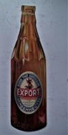 Reclame Fles In Karton  EXPORT  --- VANDENHEUVEL  Rond 1950 - Bière