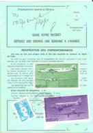 Ordre De Réexpédition Définitif (base Poste Aérienne) Oblitéré VIRE CALVADOS - Poststempel (Briefe)